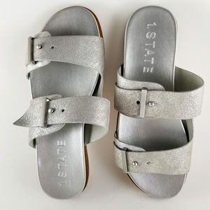 1. STATE Ocel Double Strap Buckle-Free Sandals New